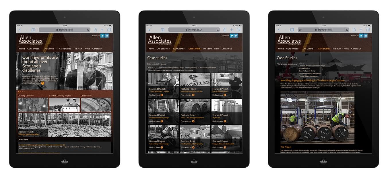 Allen Associates Web Site