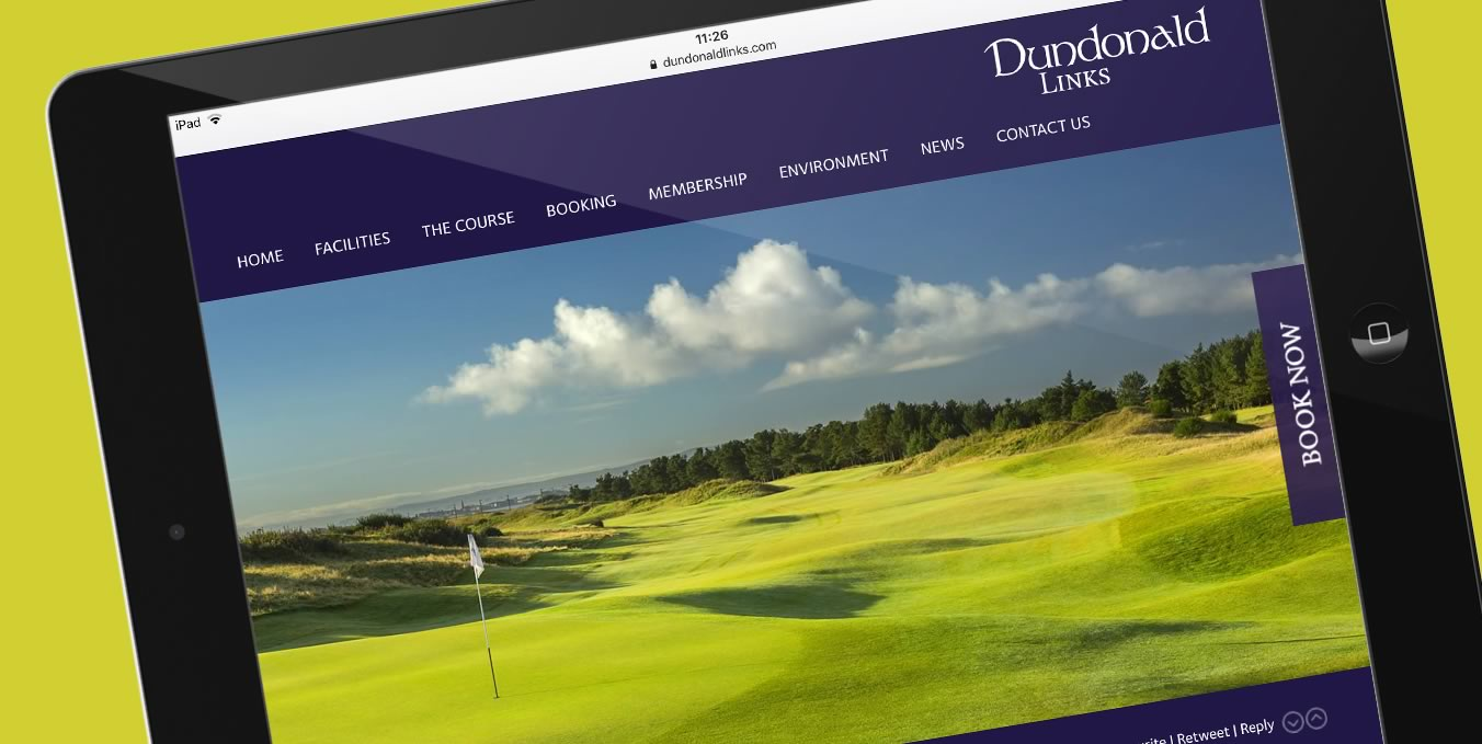 Dundonald Links Web site