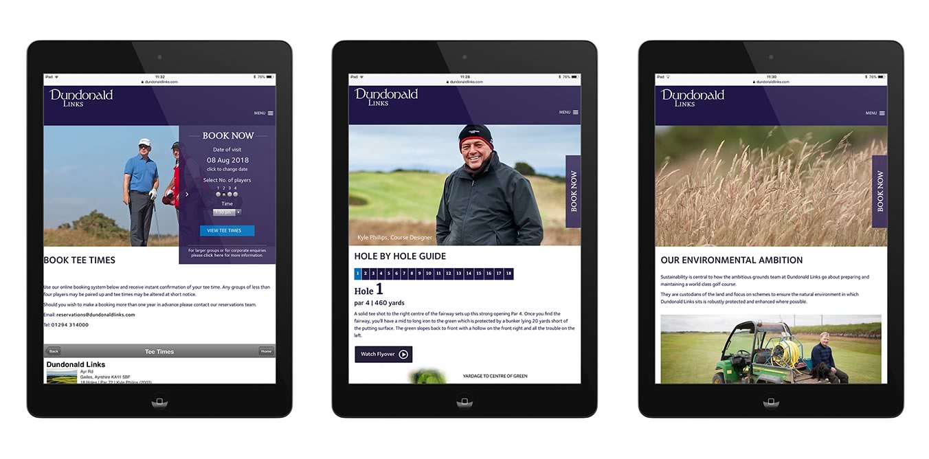Dundonald Links Web pages