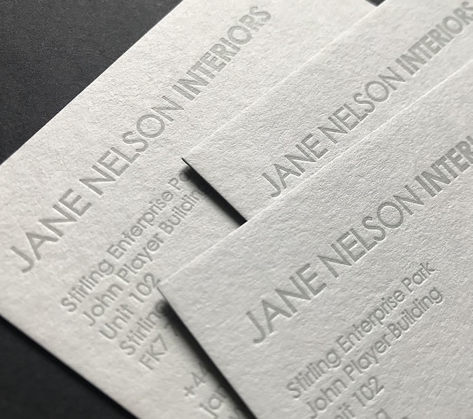 Jane Nelson Interiors stationary