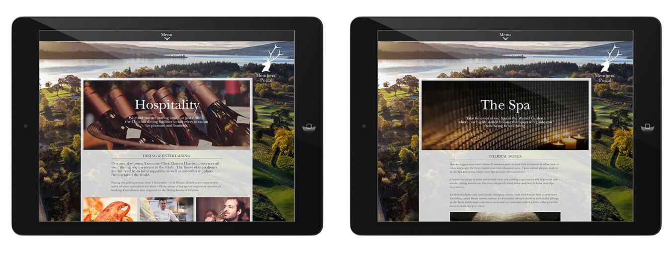 Loch Lomond Golf Club web site